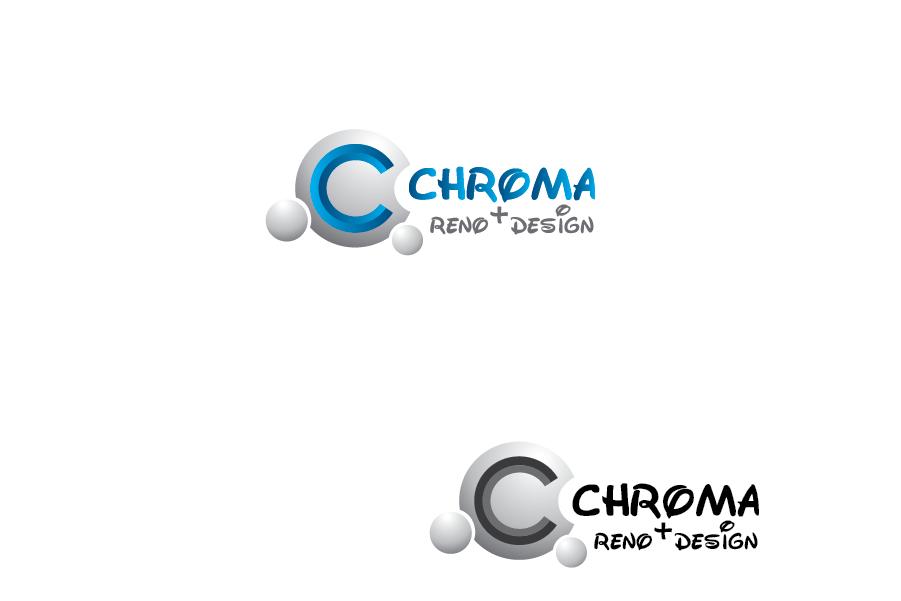 Logo Design by Private User - Entry No. 42 in the Logo Design Contest Inspiring Logo Design for Chroma Reno+Design.