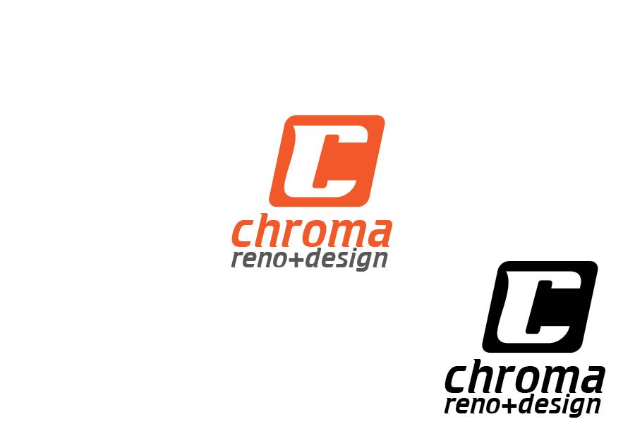 Logo Design by Private User - Entry No. 43 in the Logo Design Contest Inspiring Logo Design for Chroma Reno+Design.