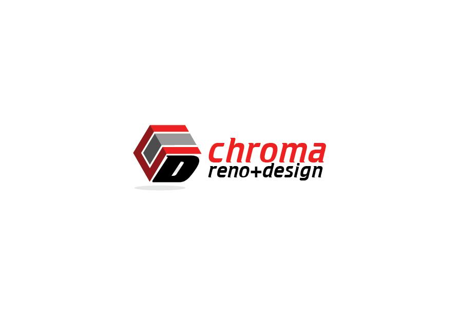 Logo Design by Private User - Entry No. 46 in the Logo Design Contest Inspiring Logo Design for Chroma Reno+Design.