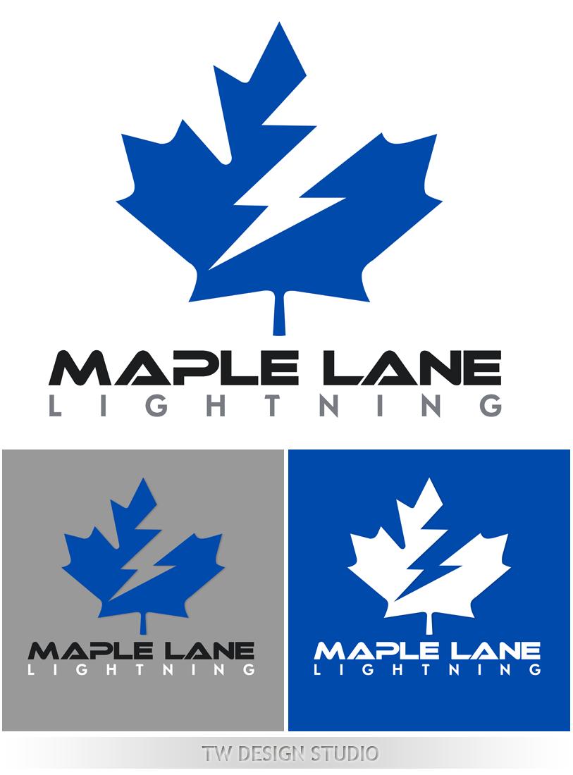 Logo Design by Robert Turla - Entry No. 107 in the Logo Design Contest Maple Lane Logo Design.