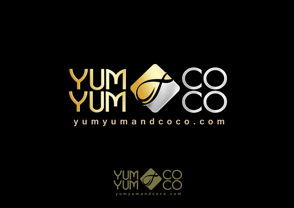 Logo Design by Respati Himawan - Entry No. 204 in the Logo Design Contest Logo Design for YumYum & CoCo.