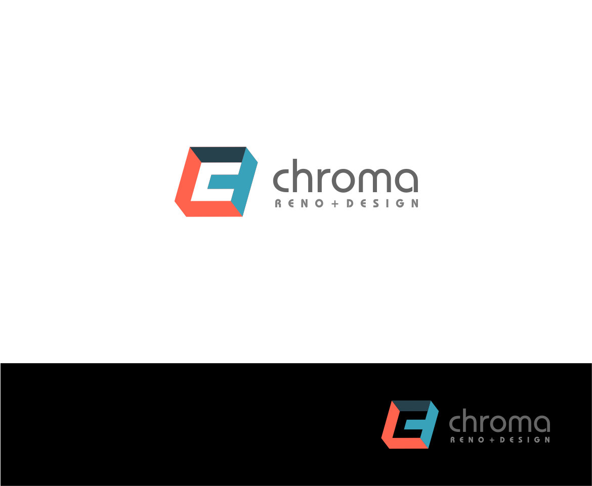 Logo Design by haidu - Entry No. 49 in the Logo Design Contest Inspiring Logo Design for Chroma Reno+Design.