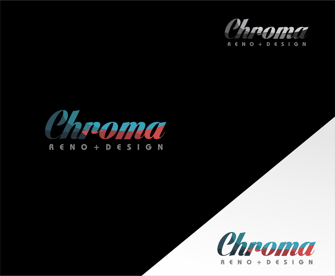 Logo Design by haidu - Entry No. 50 in the Logo Design Contest Inspiring Logo Design for Chroma Reno+Design.