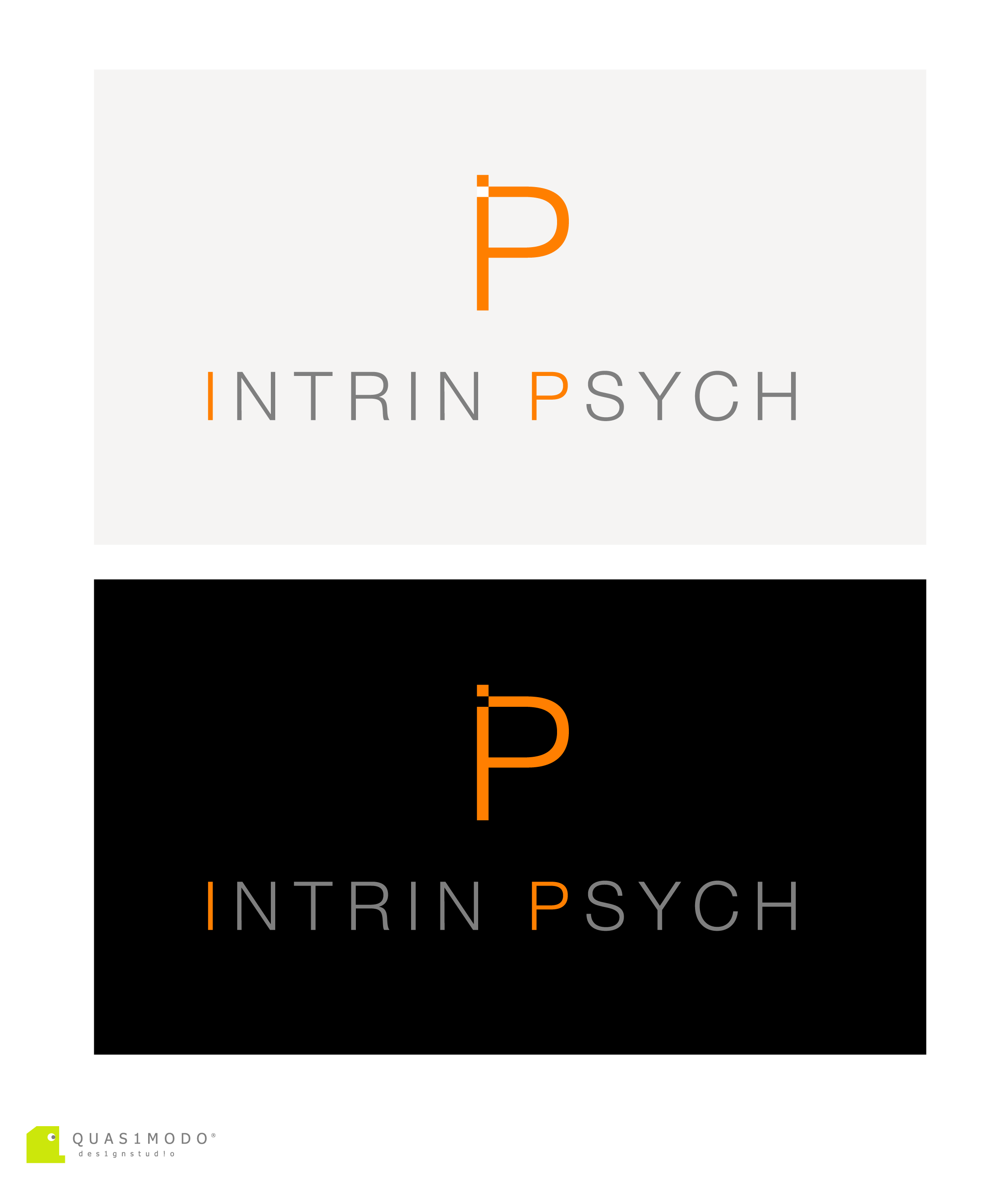 Logo Design by DIMITRIOS PAPADOPOULOS - Entry No. 165 in the Logo Design Contest New Logo Design for IntrinPsych.