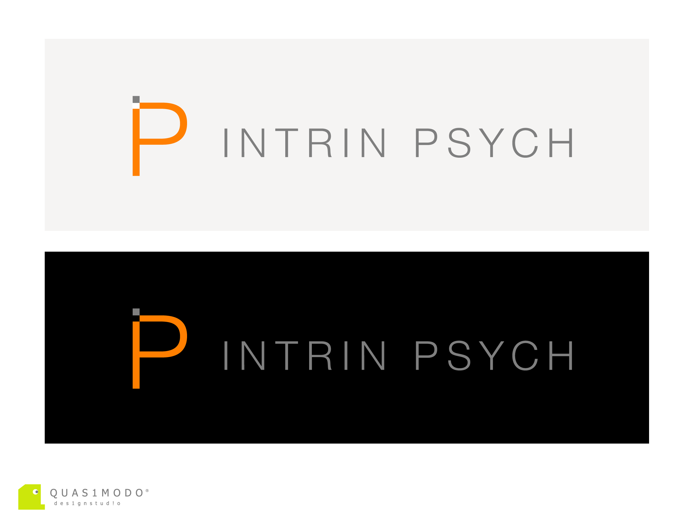 Logo Design by DIMITRIOS PAPADOPOULOS - Entry No. 166 in the Logo Design Contest New Logo Design for IntrinPsych.