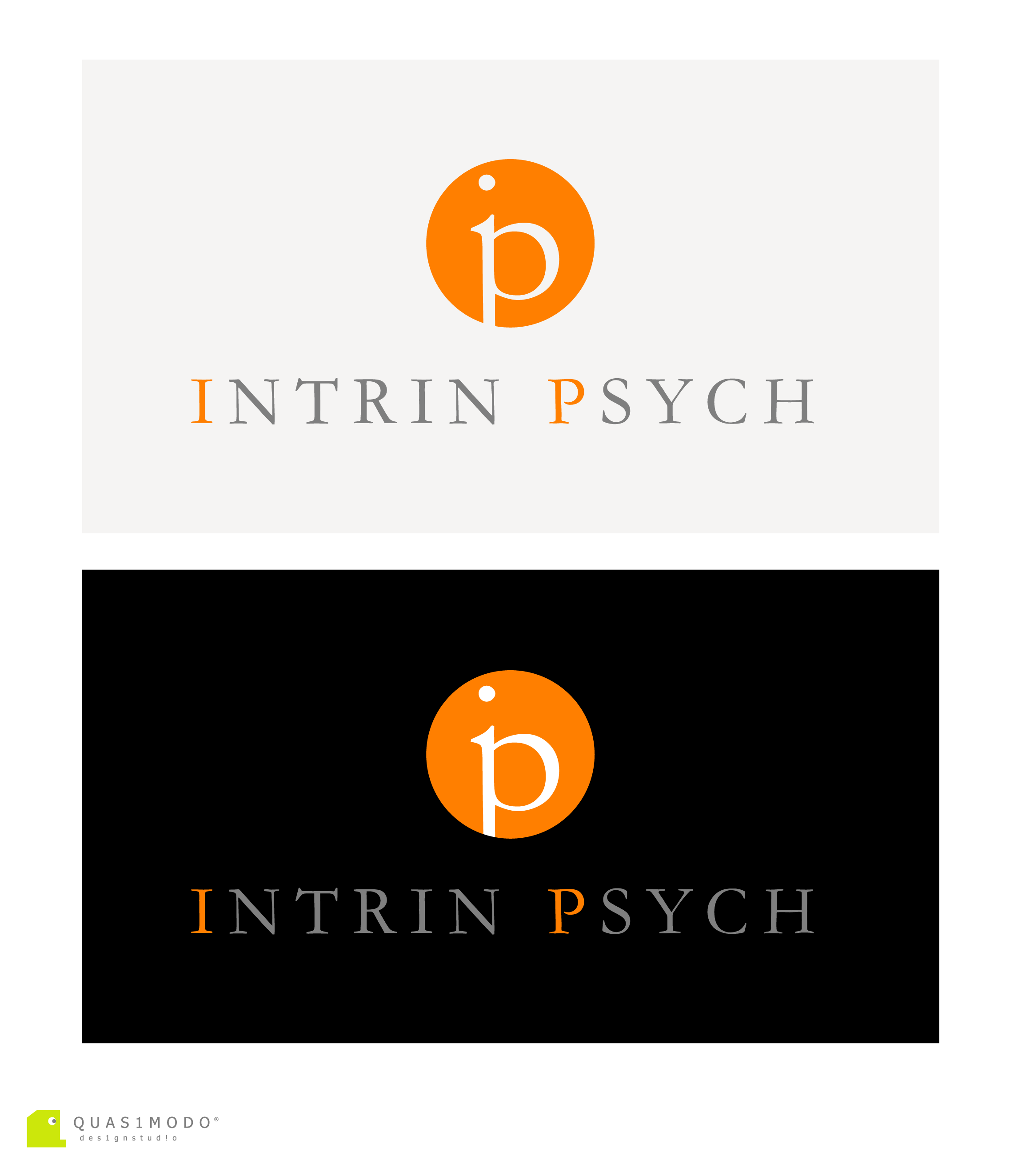 Logo Design by DIMITRIOS PAPADOPOULOS - Entry No. 168 in the Logo Design Contest New Logo Design for IntrinPsych.