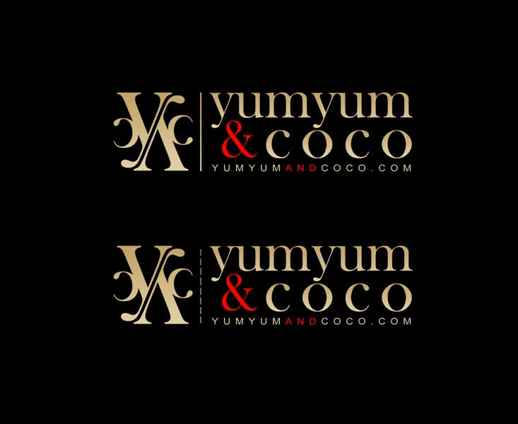 Logo Design by Juan_Kata - Entry No. 211 in the Logo Design Contest Logo Design for YumYum & CoCo.