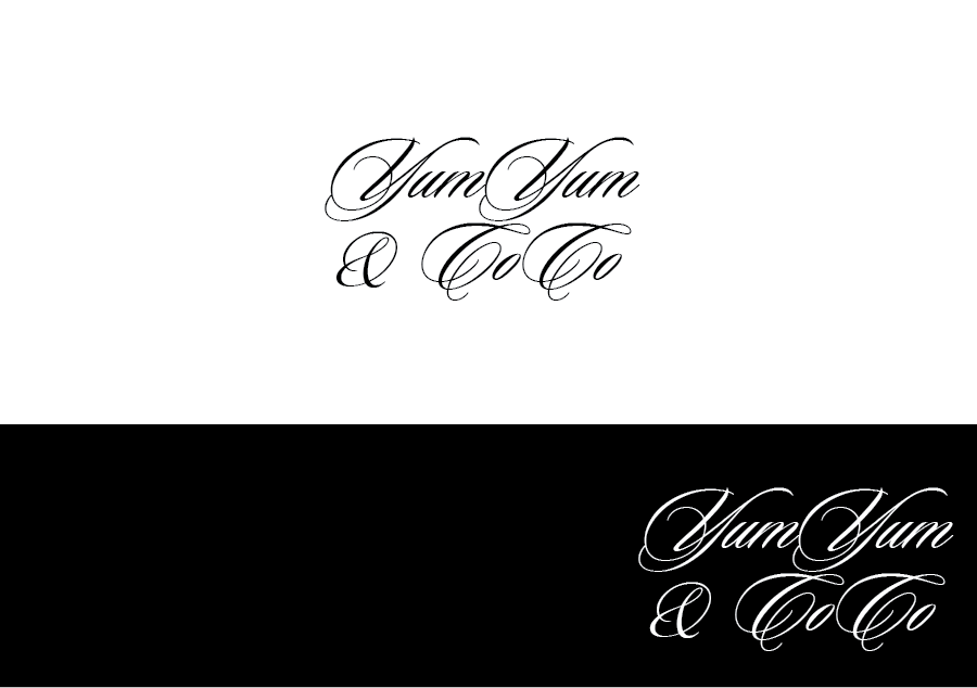 Logo Design by Private User - Entry No. 215 in the Logo Design Contest Logo Design for YumYum & CoCo.