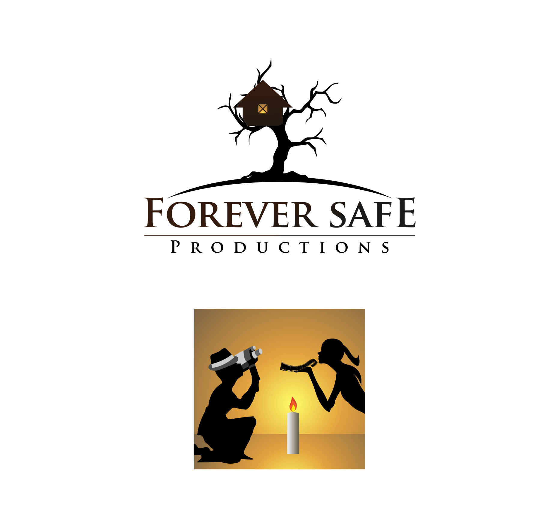 Logo Design by haidu - Entry No. 59 in the Logo Design Contest Inspiring Logo Design for Forever Safe Productions.