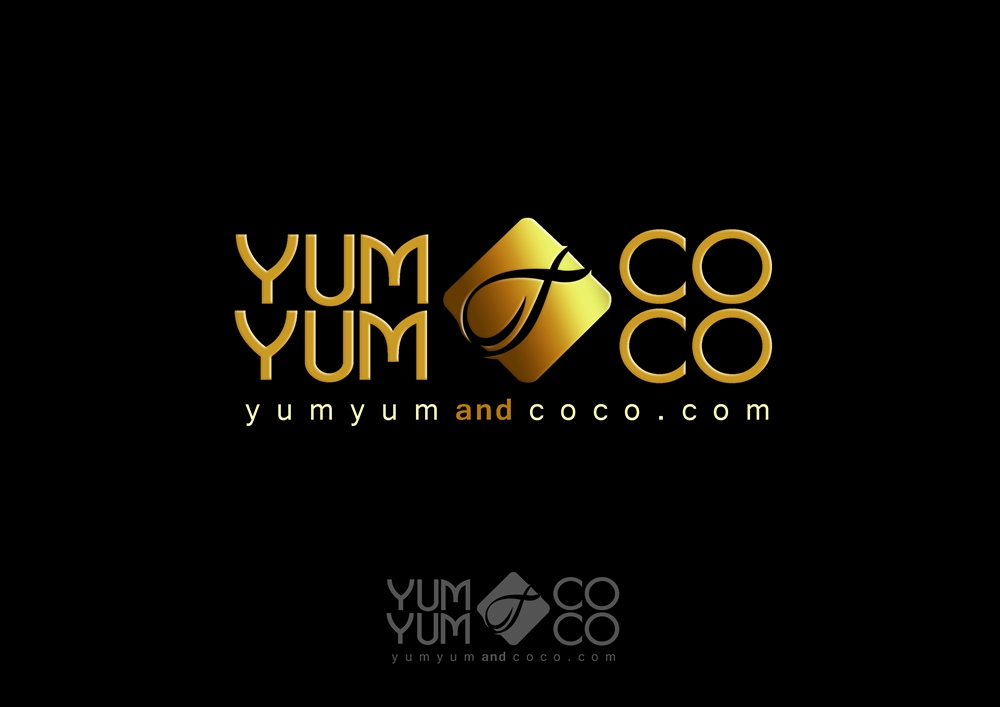 Logo Design by Respati Himawan - Entry No. 221 in the Logo Design Contest Logo Design for YumYum & CoCo.
