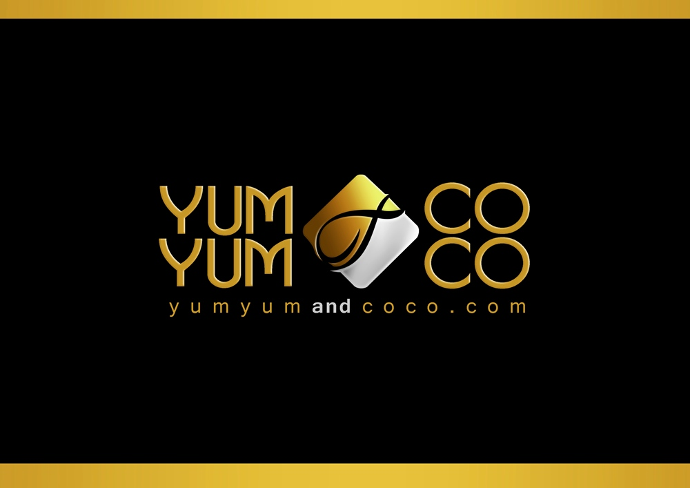 Logo Design by Respati Himawan - Entry No. 222 in the Logo Design Contest Logo Design for YumYum & CoCo.