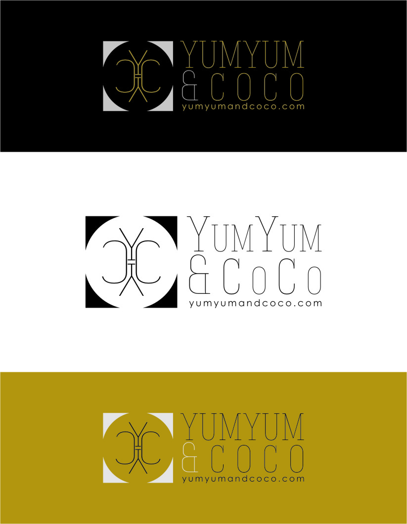 Logo Design by RasYa Muhammad Athaya - Entry No. 225 in the Logo Design Contest Logo Design for YumYum & CoCo.