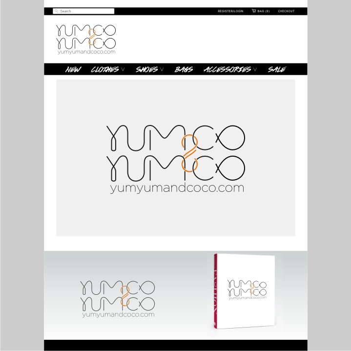 Logo Design by graphicleaf - Entry No. 226 in the Logo Design Contest Logo Design for YumYum & CoCo.
