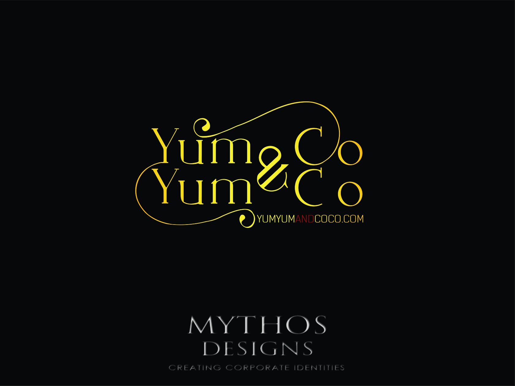 Logo Design by Mythos Designs - Entry No. 227 in the Logo Design Contest Logo Design for YumYum & CoCo.
