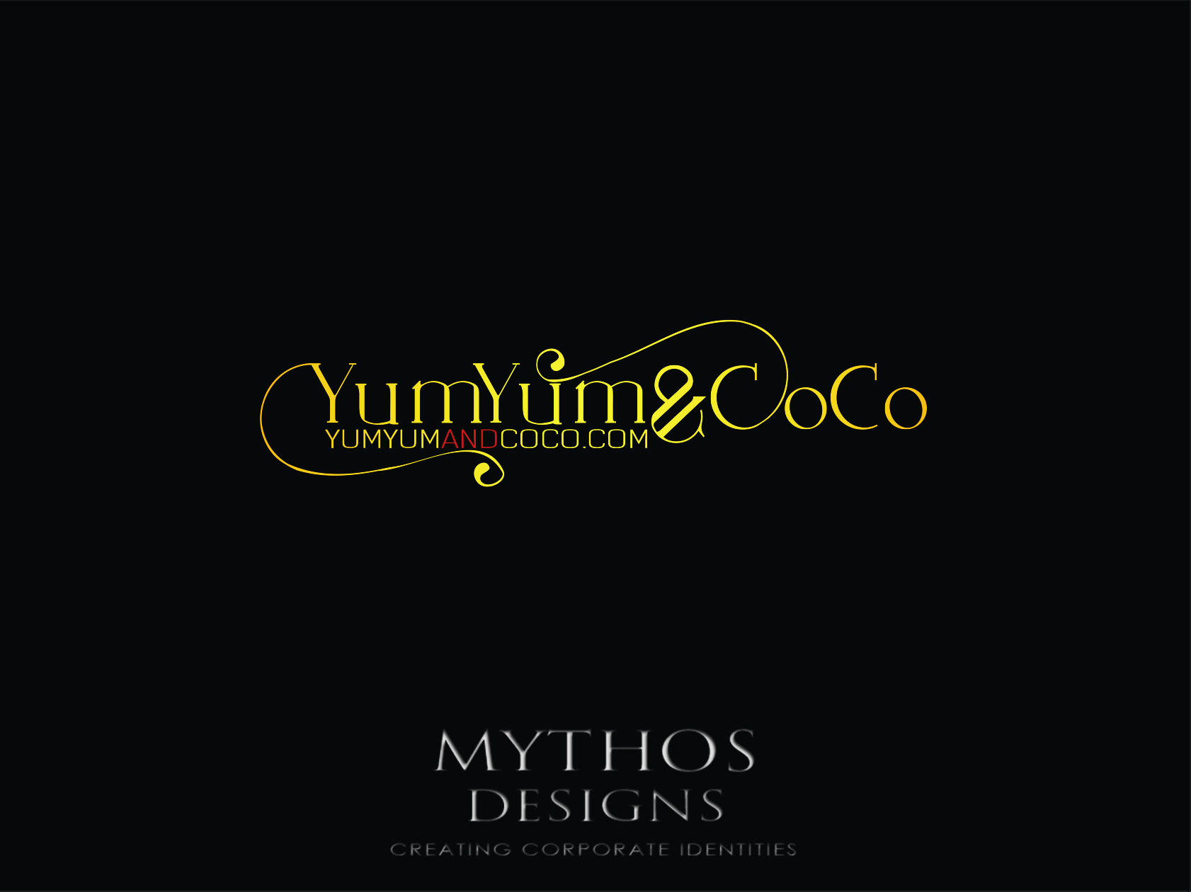 Logo Design by Mythos Designs - Entry No. 229 in the Logo Design Contest Logo Design for YumYum & CoCo.