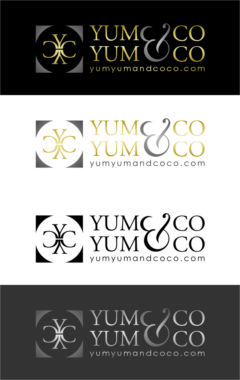 Logo Design by Ngepet_art - Entry No. 230 in the Logo Design Contest Logo Design for YumYum & CoCo.