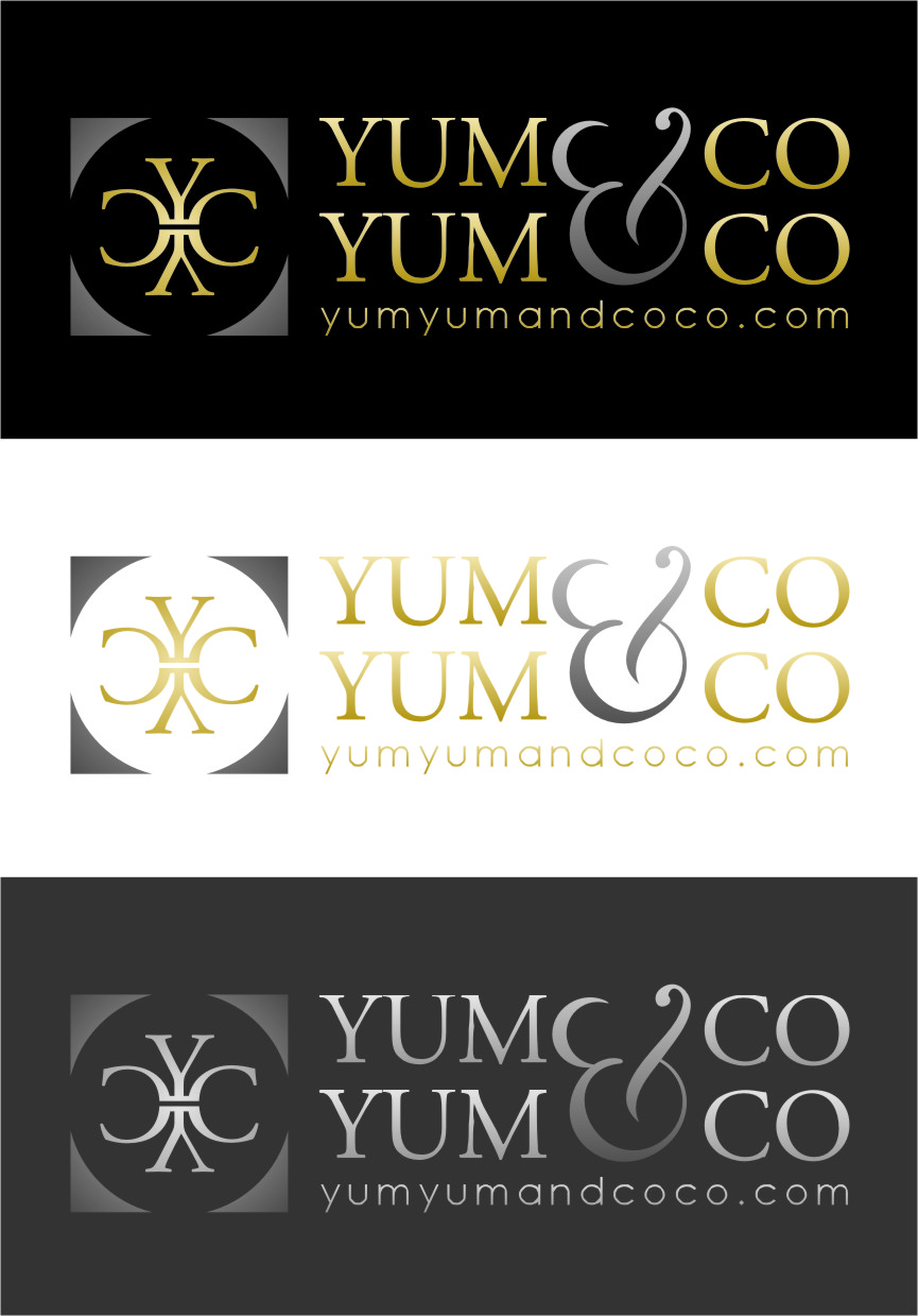 Logo Design by Ngepet_art - Entry No. 231 in the Logo Design Contest Logo Design for YumYum & CoCo.