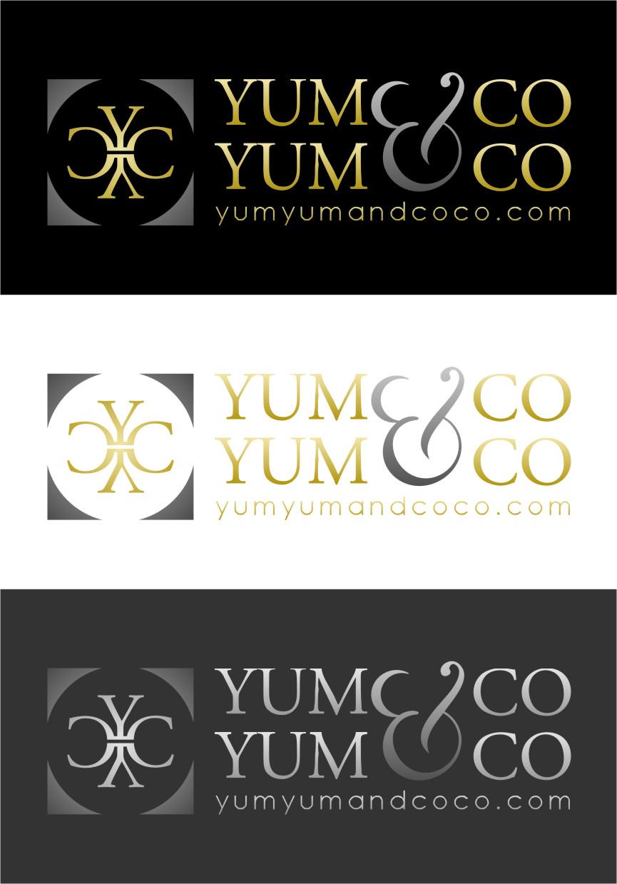 Logo Design by RasYa Muhammad Athaya - Entry No. 231 in the Logo Design Contest Logo Design for YumYum & CoCo.