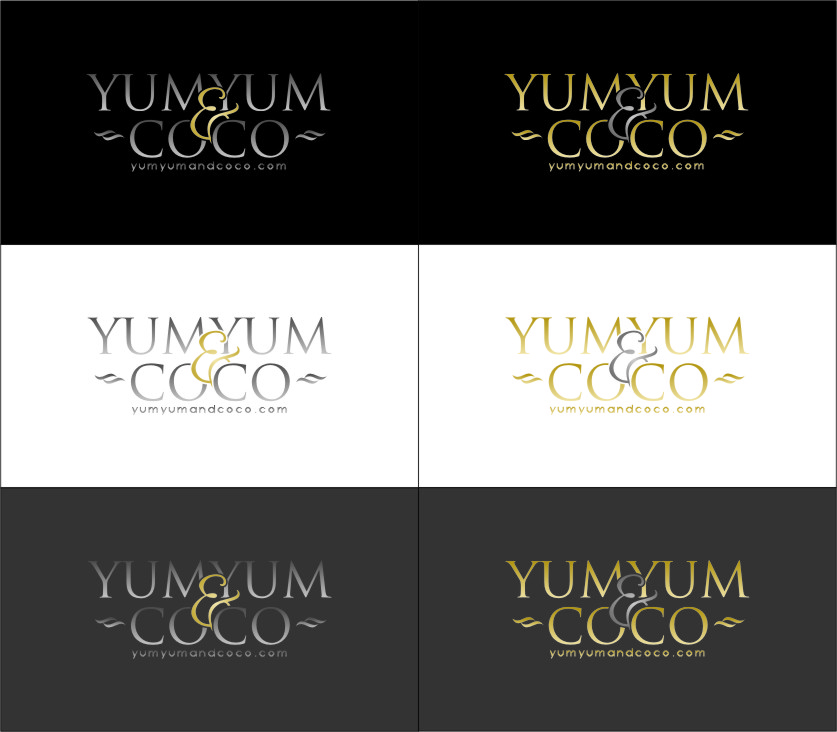 Logo Design by RasYa Muhammad Athaya - Entry No. 232 in the Logo Design Contest Logo Design for YumYum & CoCo.