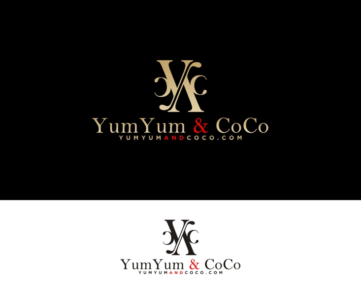 Logo Design by Juan_Kata - Entry No. 237 in the Logo Design Contest Logo Design for YumYum & CoCo.