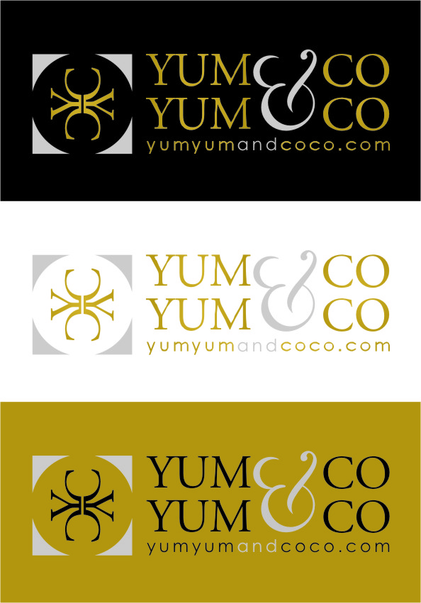 Logo Design by Ngepet_art - Entry No. 245 in the Logo Design Contest Logo Design for YumYum & CoCo.