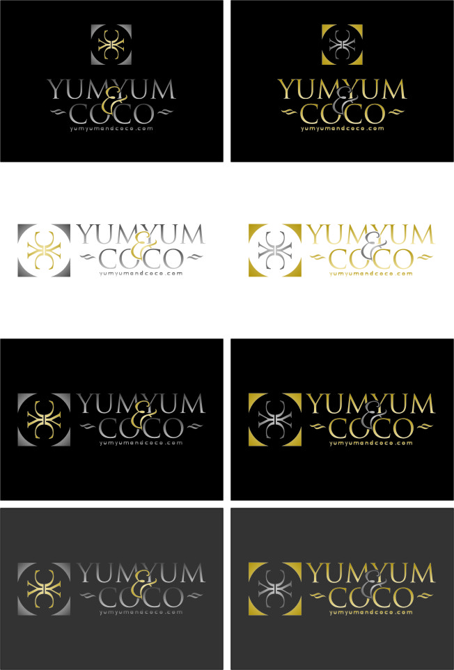 Logo Design by RoSyid Rono-Rene On Java - Entry No. 247 in the Logo Design Contest Logo Design for YumYum & CoCo.