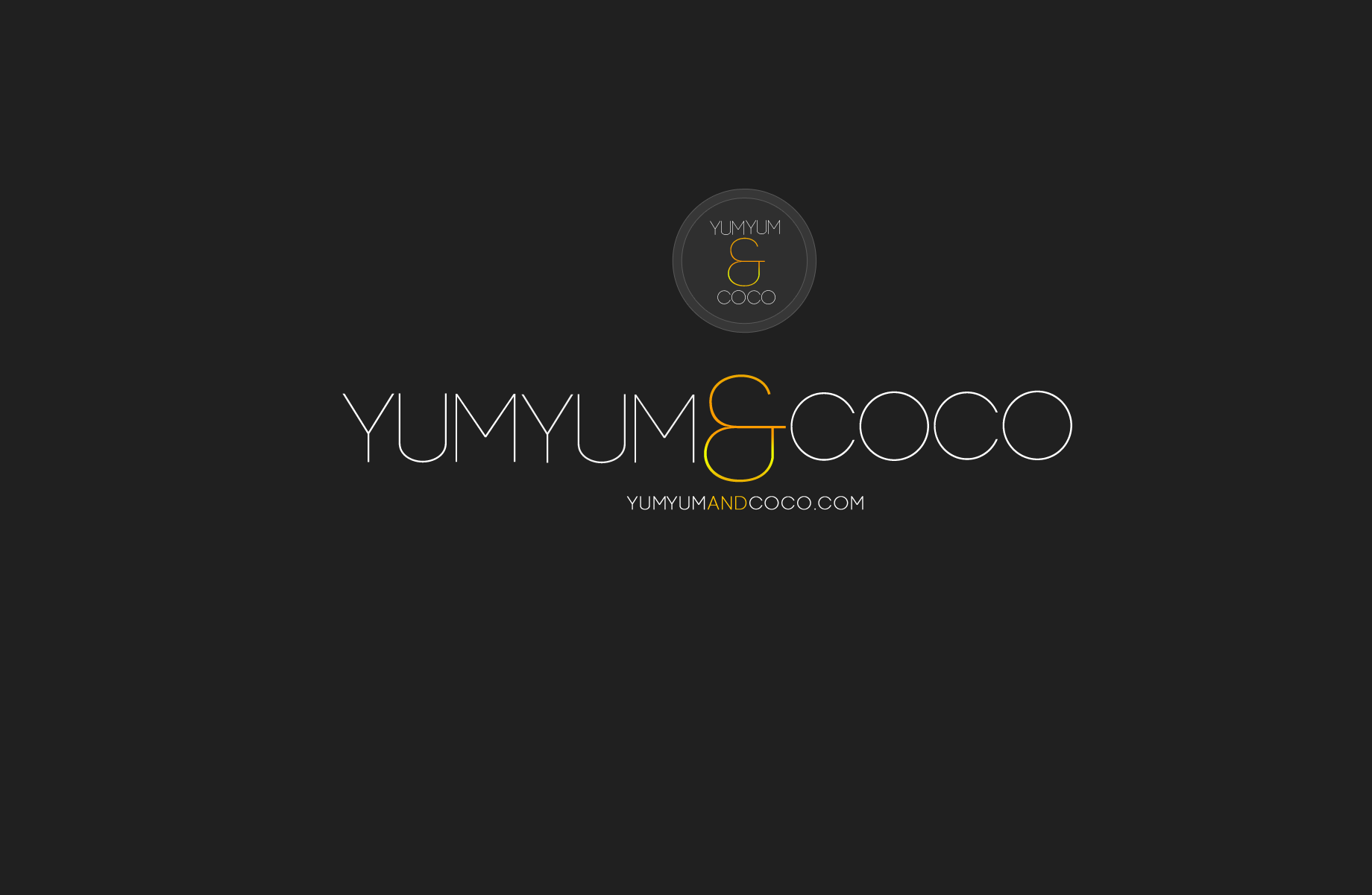 Logo Design by Jan Chua - Entry No. 248 in the Logo Design Contest Logo Design for YumYum & CoCo.