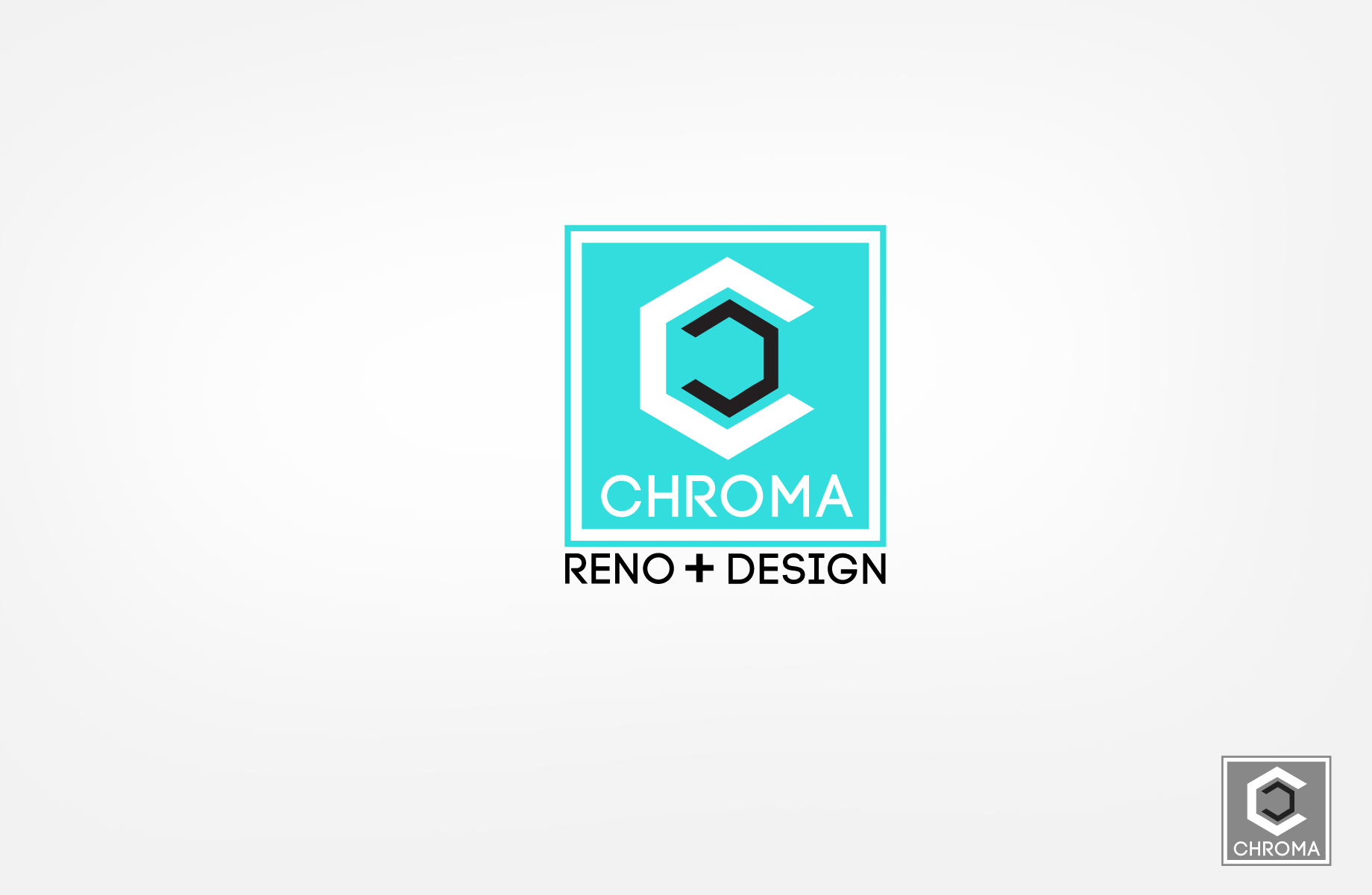 Logo Design by Jan Chua - Entry No. 63 in the Logo Design Contest Inspiring Logo Design for Chroma Reno+Design.