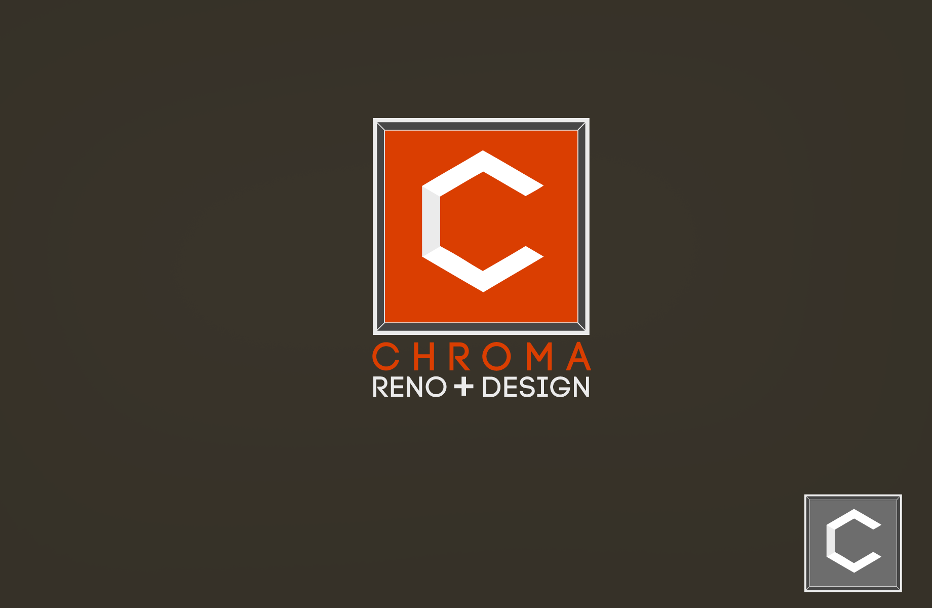 Logo Design by Jan Chua - Entry No. 65 in the Logo Design Contest Inspiring Logo Design for Chroma Reno+Design.