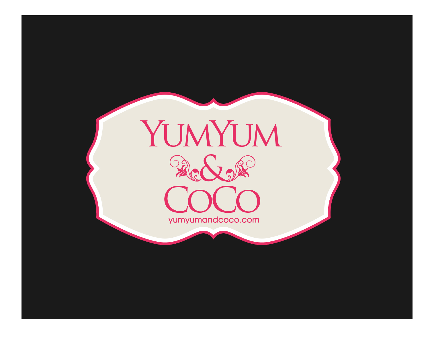 Logo Design by Jagdeep Singh - Entry No. 252 in the Logo Design Contest Logo Design for YumYum & CoCo.