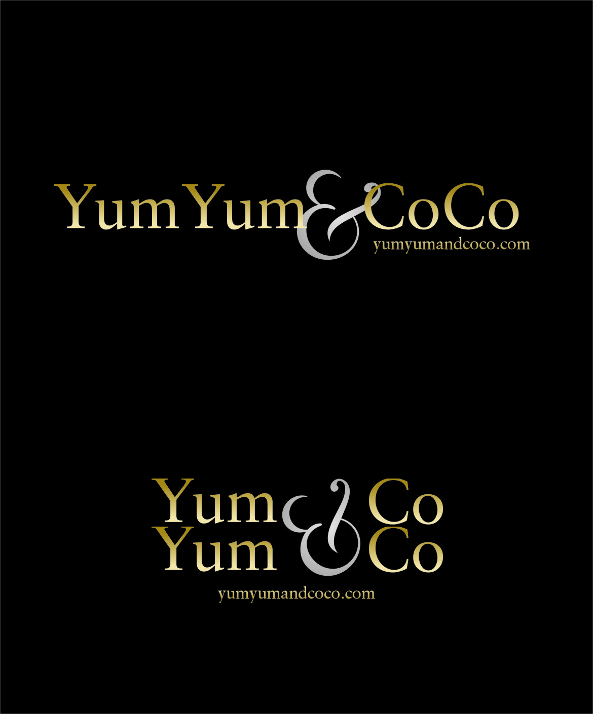 Logo Design by Ngepet_art - Entry No. 253 in the Logo Design Contest Logo Design for YumYum & CoCo.