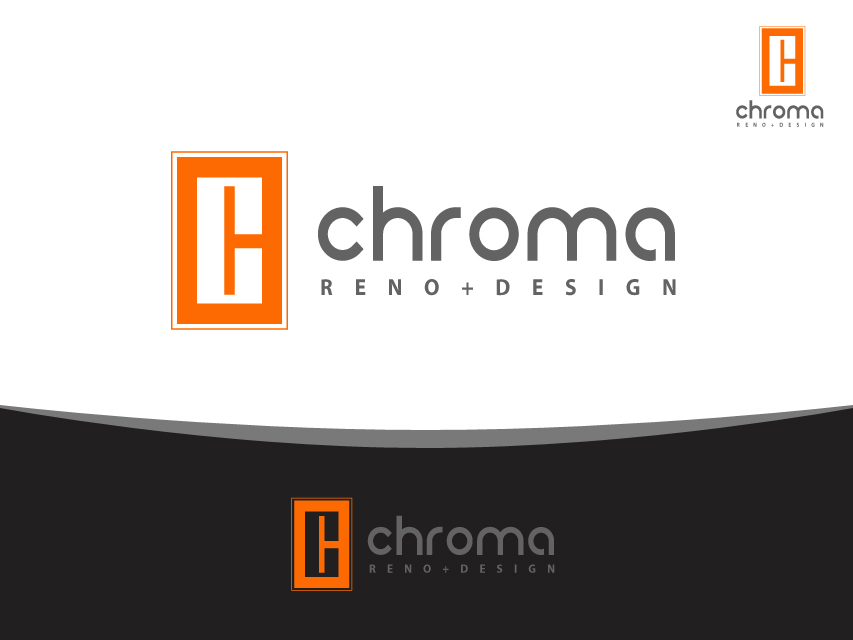 Logo Design by Richard Soriano - Entry No. 69 in the Logo Design Contest Inspiring Logo Design for Chroma Reno+Design.
