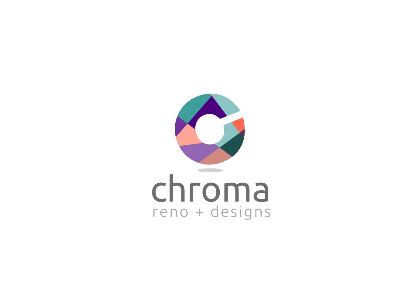 Logo Design by Jerameel Cabautan - Entry No. 70 in the Logo Design Contest Inspiring Logo Design for Chroma Reno+Design.