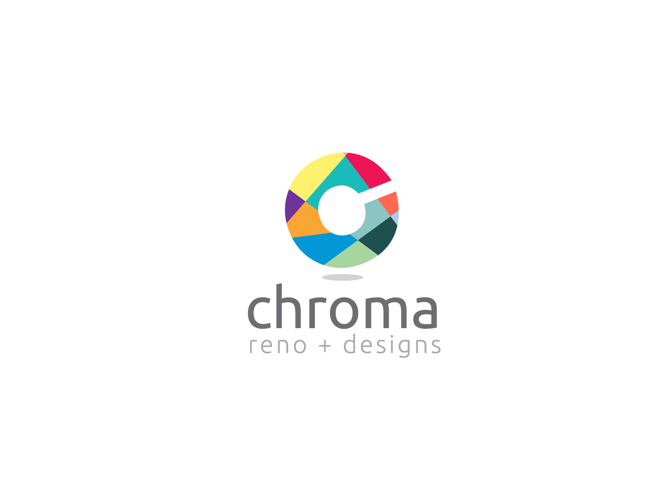 Logo Design by Jerameel Cabautan - Entry No. 71 in the Logo Design Contest Inspiring Logo Design for Chroma Reno+Design.