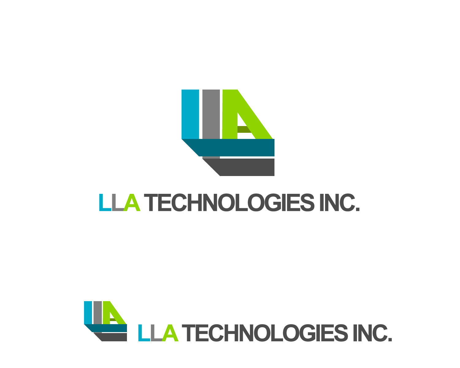 Logo Design by Jagdeep Singh - Entry No. 20 in the Logo Design Contest Inspiring Logo Design for LLA Technologies Inc..