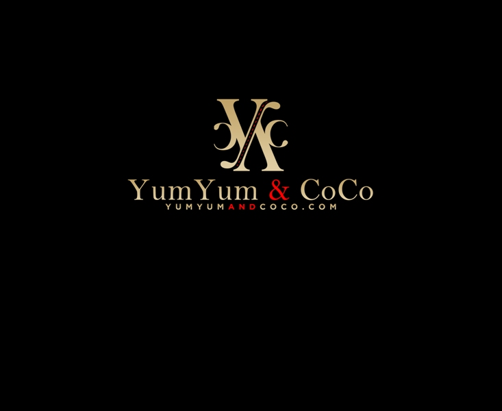 Logo Design by Juan_Kata - Entry No. 258 in the Logo Design Contest Logo Design for YumYum & CoCo.