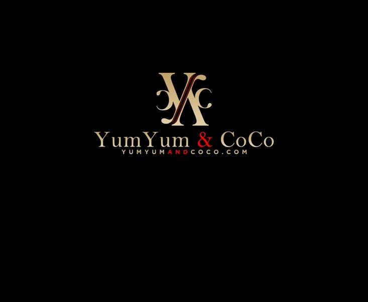 Logo Design by Juan_Kata - Entry No. 260 in the Logo Design Contest Logo Design for YumYum & CoCo.