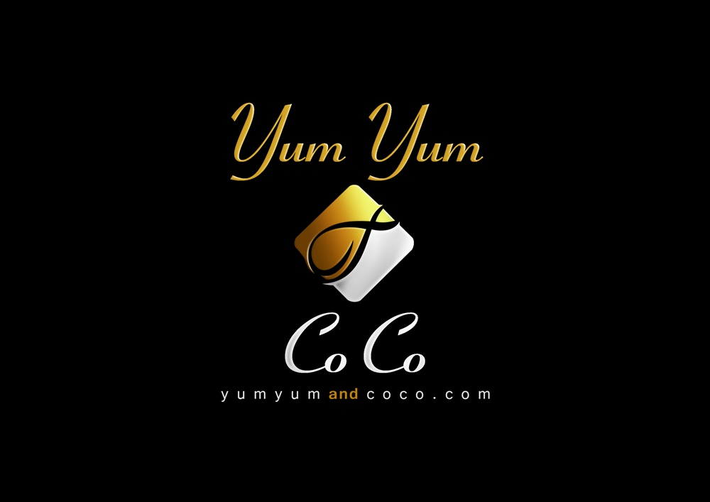 Logo Design by Respati Himawan - Entry No. 261 in the Logo Design Contest Logo Design for YumYum & CoCo.