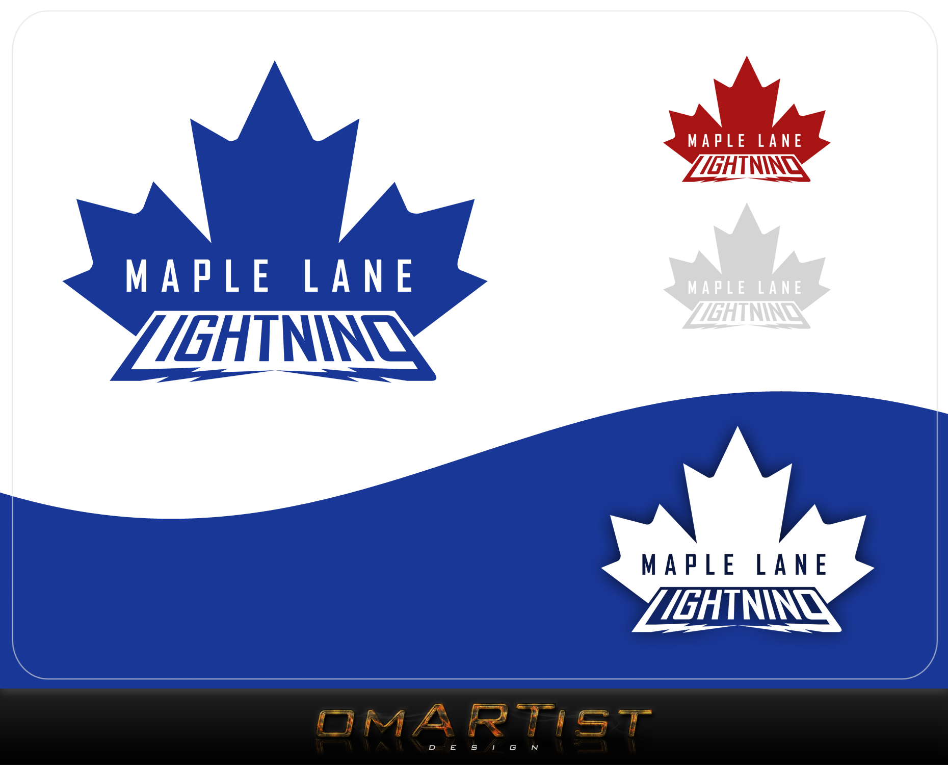 Logo Design by omARTist - Entry No. 161 in the Logo Design Contest Maple Lane Logo Design.