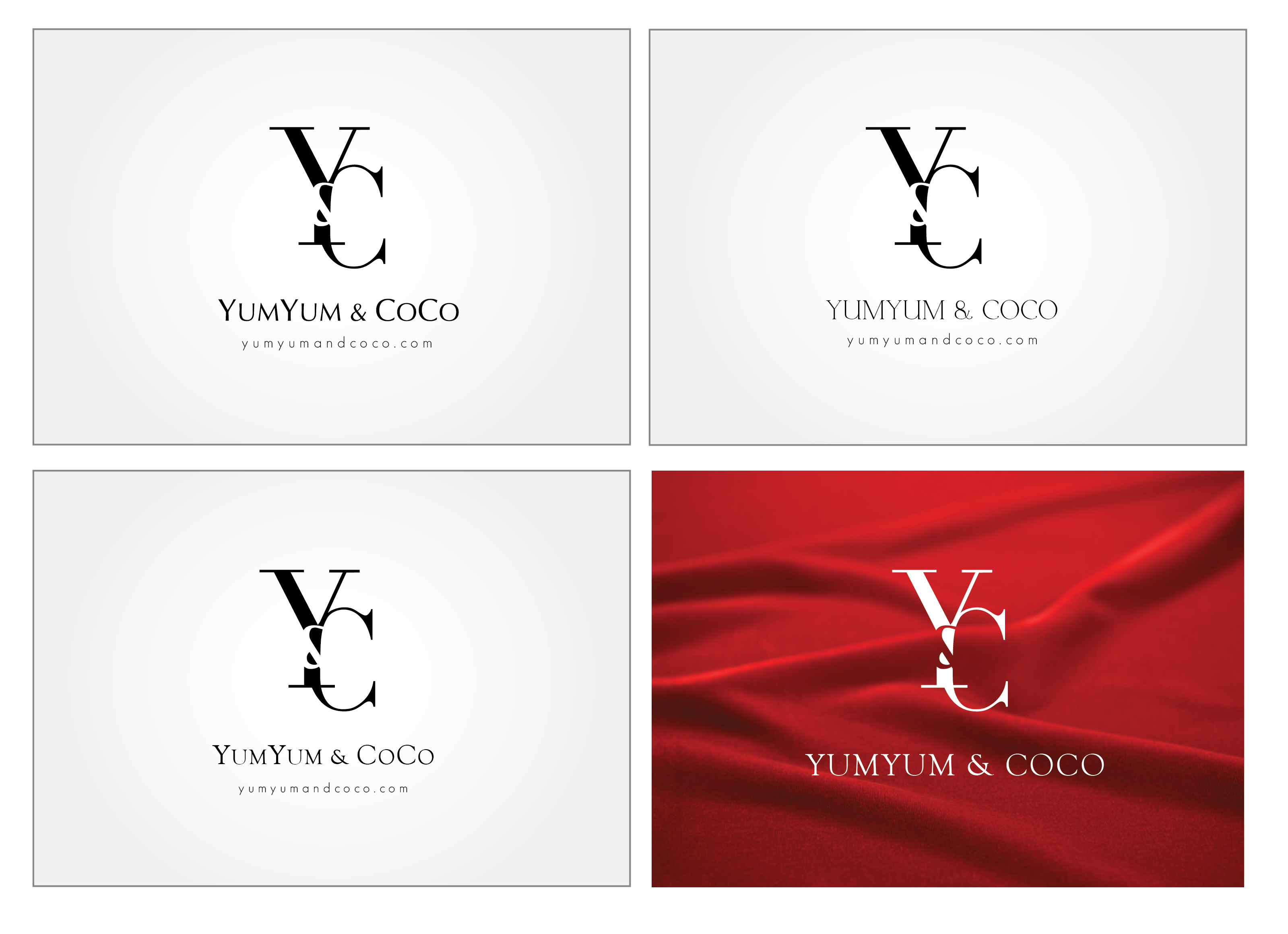 Logo Design by Son Graphics - Entry No. 264 in the Logo Design Contest Logo Design for YumYum & CoCo.