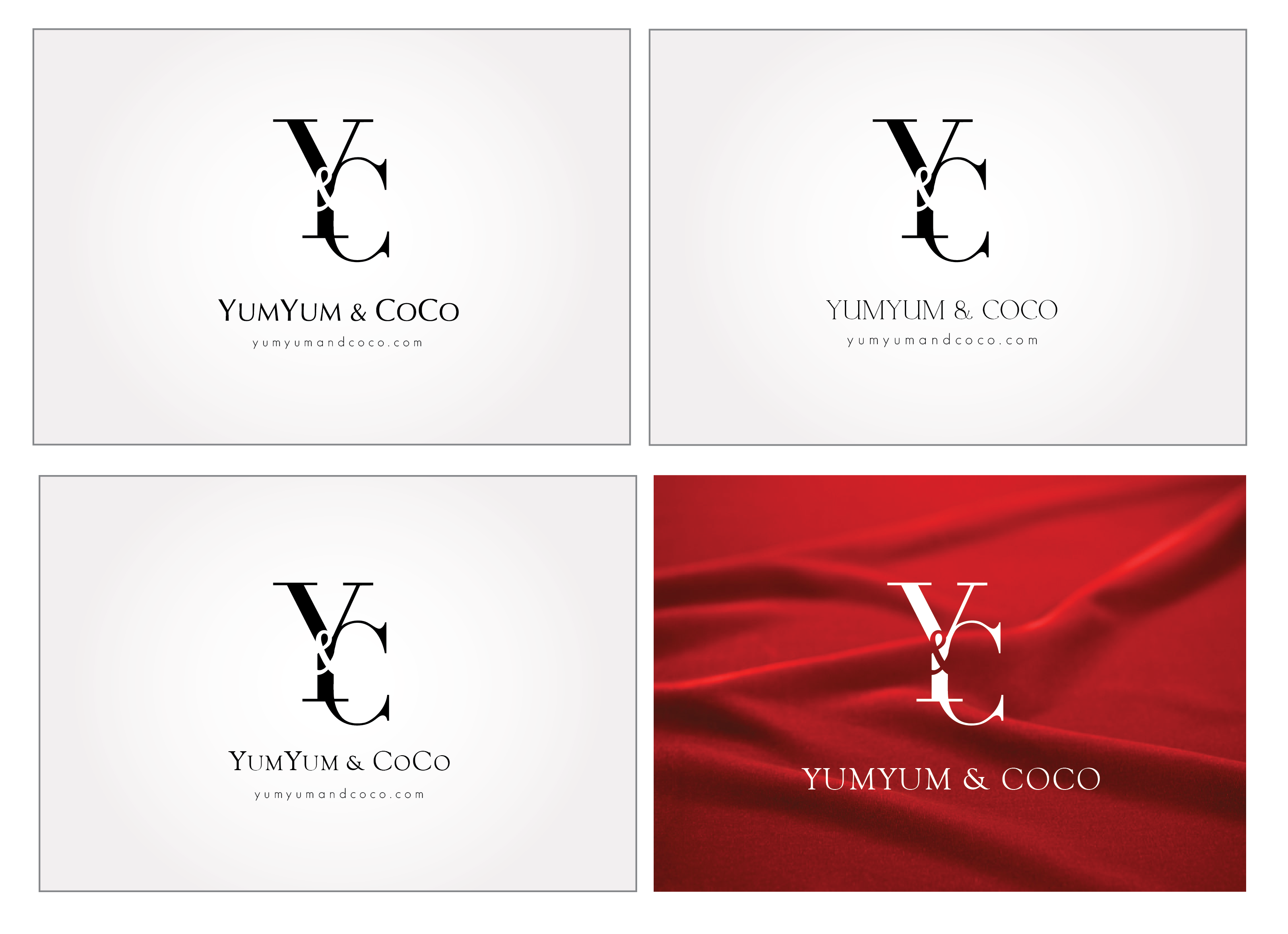 Logo Design by Son Graphics - Entry No. 265 in the Logo Design Contest Logo Design for YumYum & CoCo.