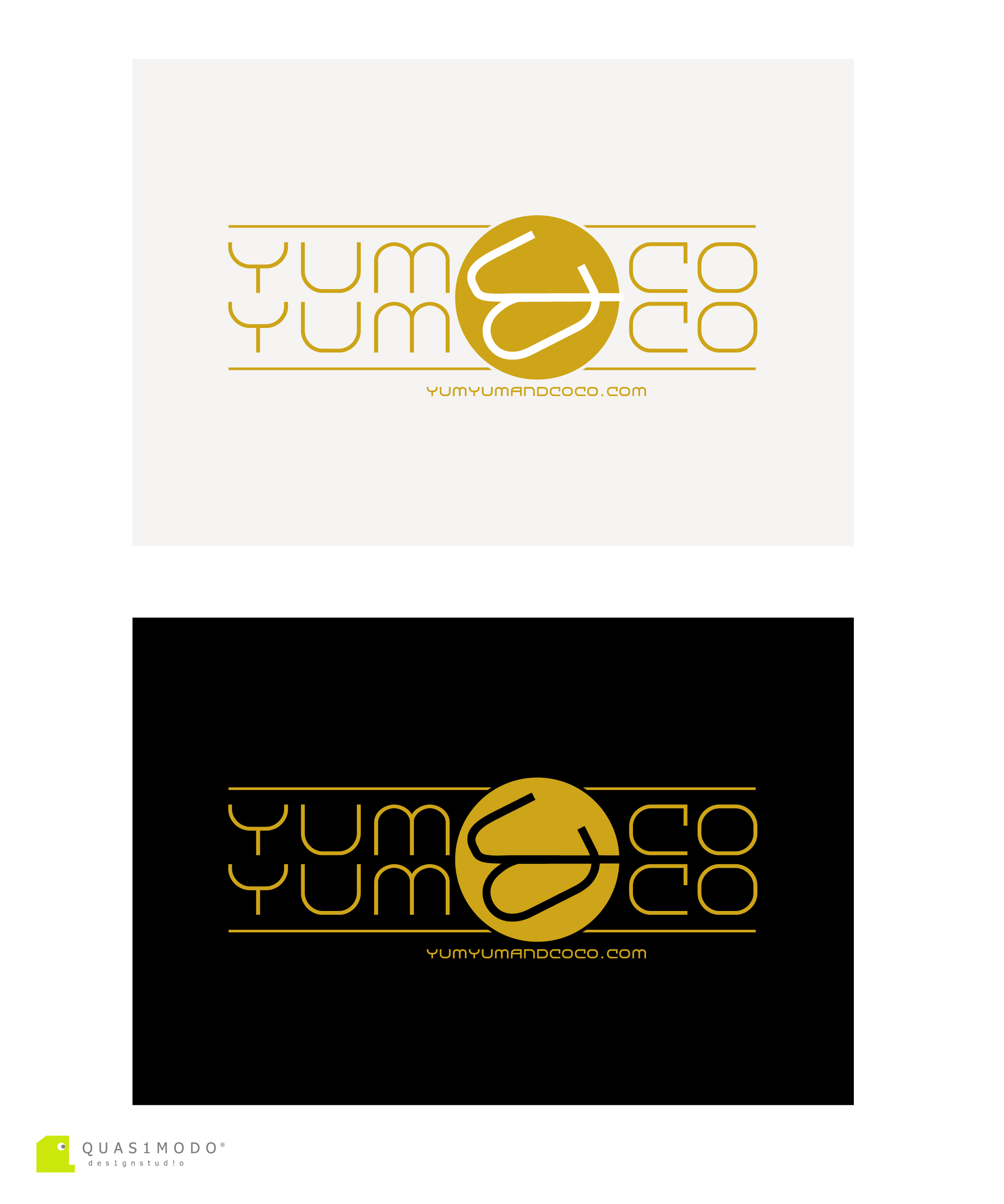 Logo Design by DIMITRIOS PAPADOPOULOS - Entry No. 267 in the Logo Design Contest Logo Design for YumYum & CoCo.