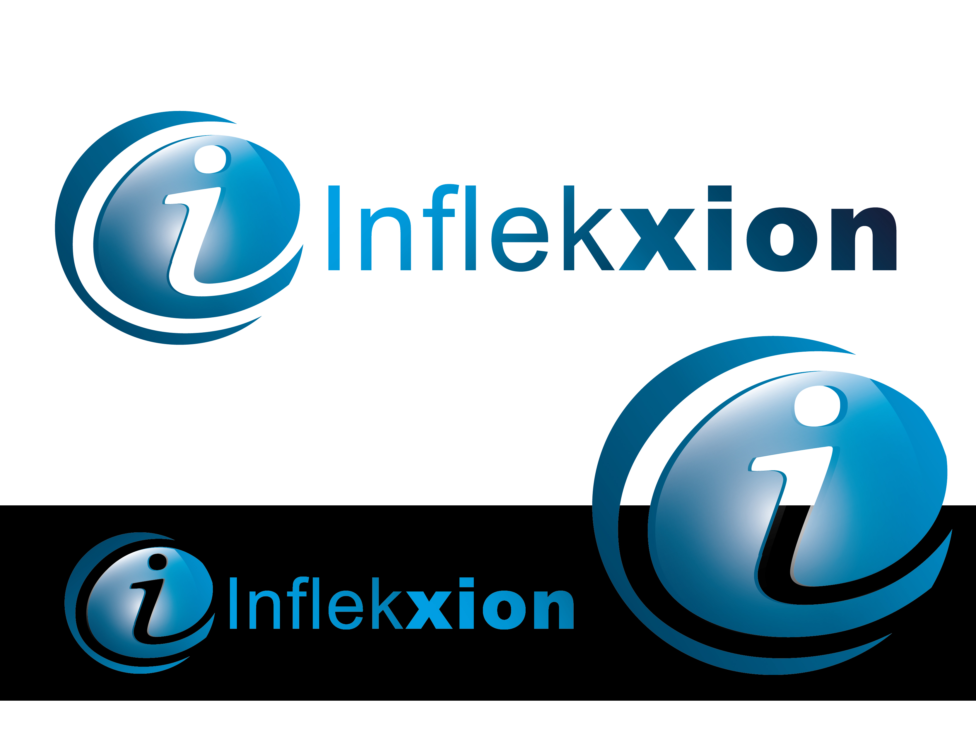 Logo Design by VENTSISLAV KOVACHEV - Entry No. 49 in the Logo Design Contest Professional Logo Design for Inflekxion.