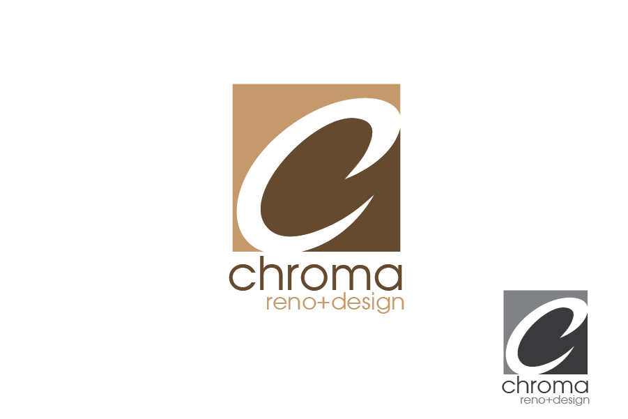 Logo Design by Private User - Entry No. 79 in the Logo Design Contest Inspiring Logo Design for Chroma Reno+Design.
