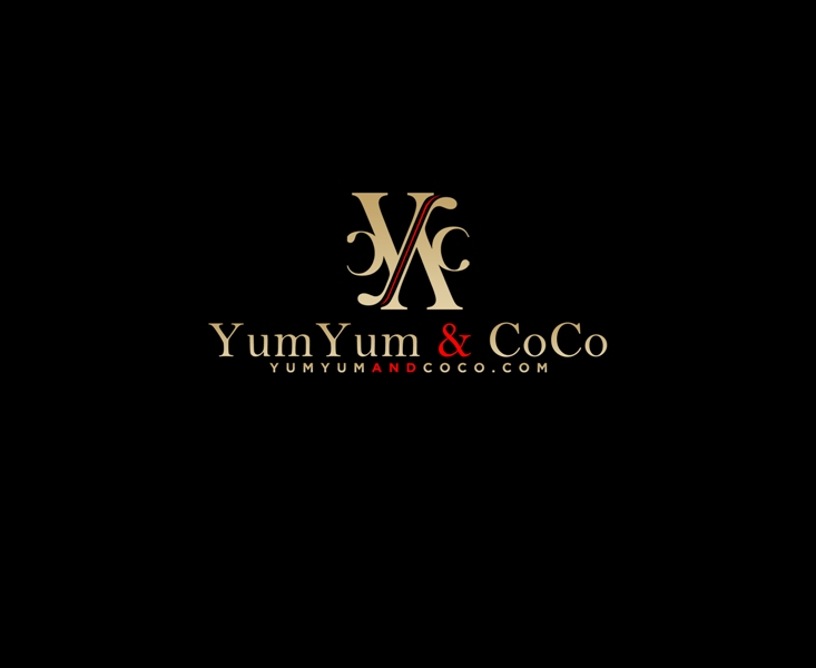Logo Design by Juan_Kata - Entry No. 273 in the Logo Design Contest Logo Design for YumYum & CoCo.