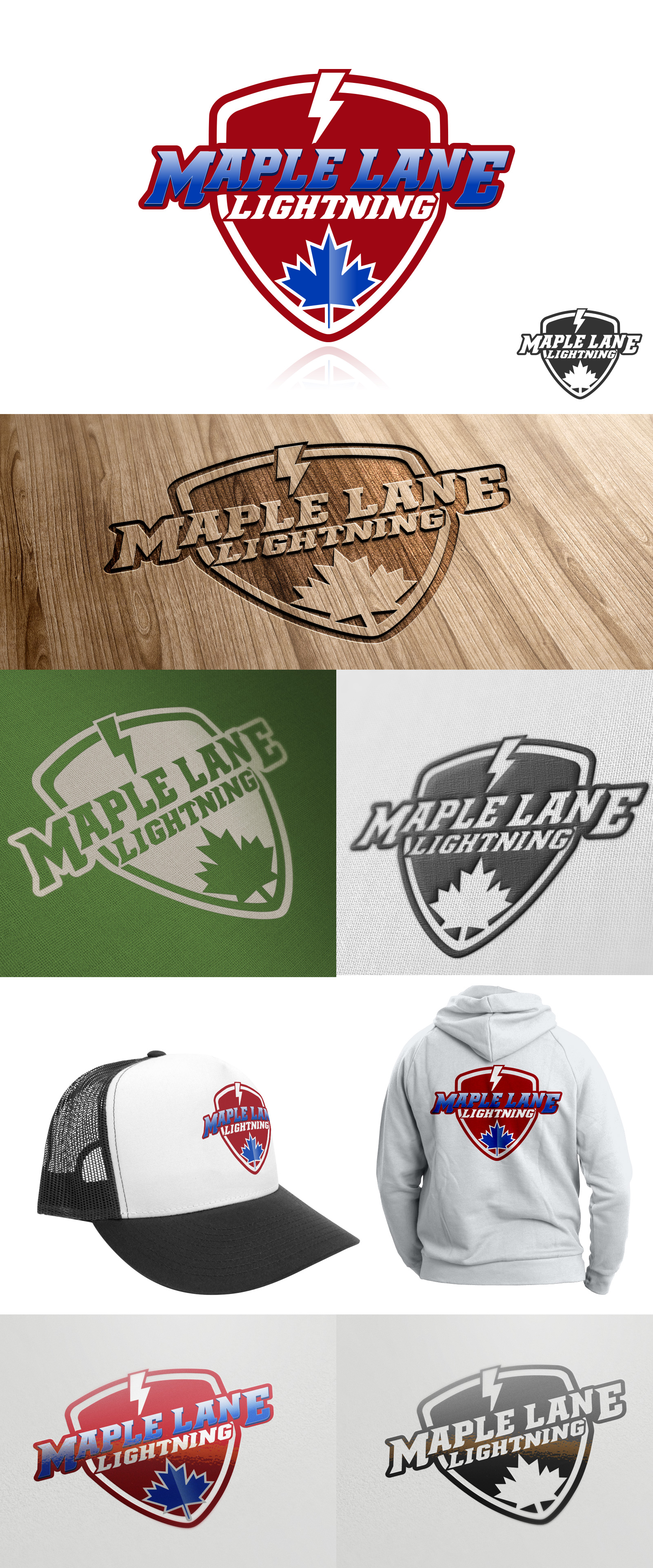 Logo Design by olii - Entry No. 170 in the Logo Design Contest Maple Lane Logo Design.