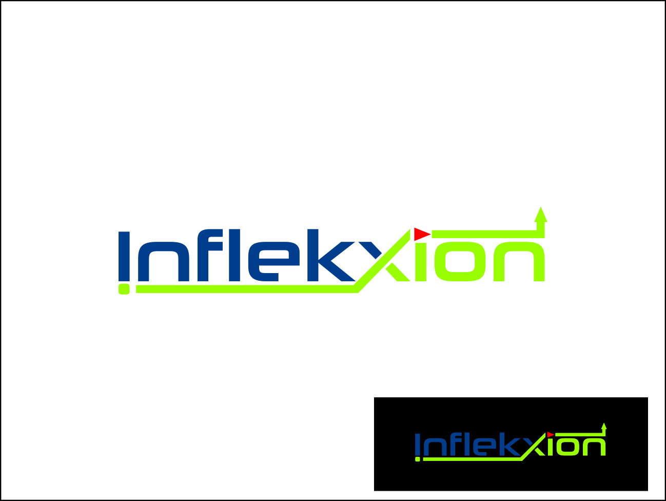 Logo Design by Agus Martoyo - Entry No. 52 in the Logo Design Contest Professional Logo Design for Inflekxion.