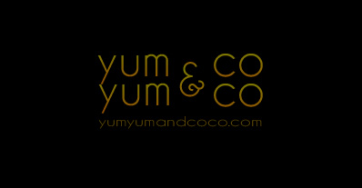 Logo Design by Boba Dizajn - Entry No. 277 in the Logo Design Contest Logo Design for YumYum & CoCo.