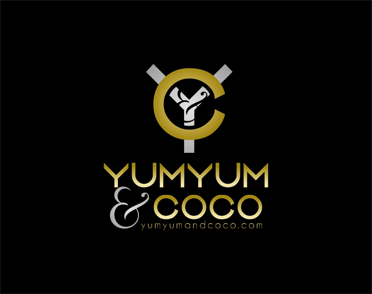 Logo Design by Ngepet_art - Entry No. 278 in the Logo Design Contest Logo Design for YumYum & CoCo.