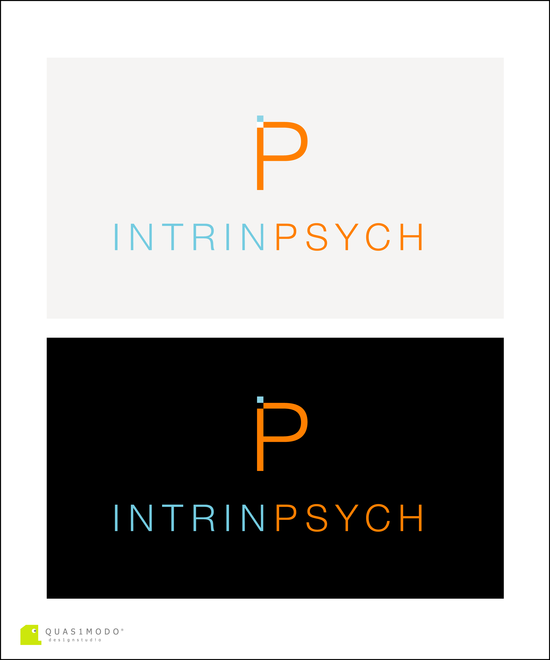 Logo Design by DIMITRIOS PAPADOPOULOS - Entry No. 208 in the Logo Design Contest New Logo Design for IntrinPsych.